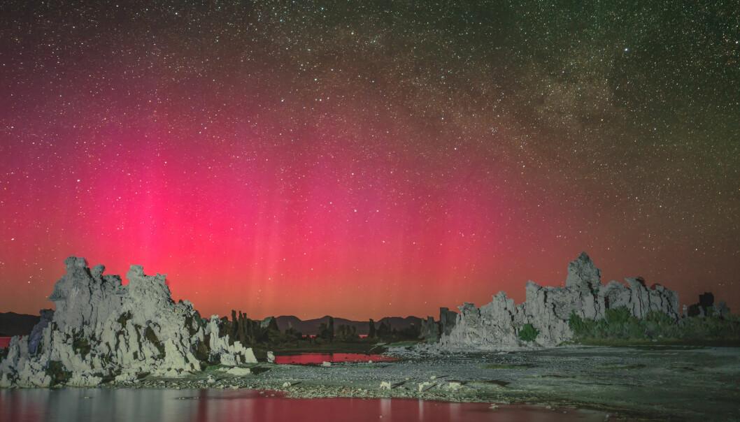 Astrologen Issār-šumu-ēreš rapporterte om en rød glød på himmelen en gang mens han var ansatt hos den assyriske kongen i perioden 679 til 655 f.Kr. Kan han ha sett rødt polarlys? (Bilde: Beth Ruggiero-York / Shutterstock / NTB scanpix)