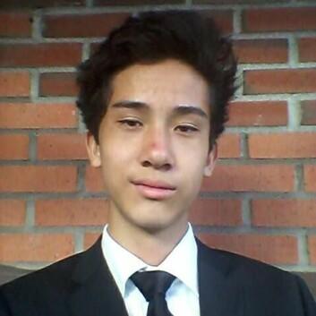 Martin Wang Hanshaugen, 14 år, fra Nordberg skole, Oslo (Foto: (Photo: privat))