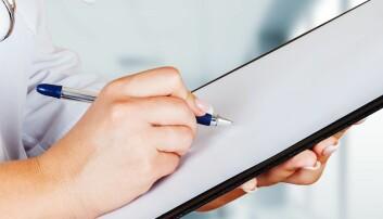 Tar første steg mot strukturert journal