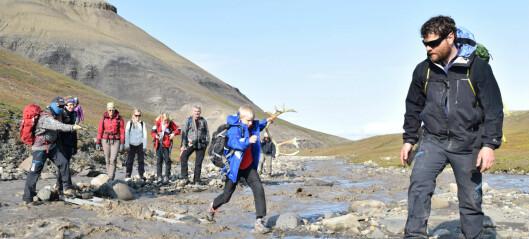 Kjempefiskeøgle funnet på Svalbard