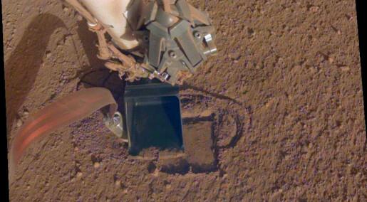 Fortsatt håp for muldvarpen på Mars