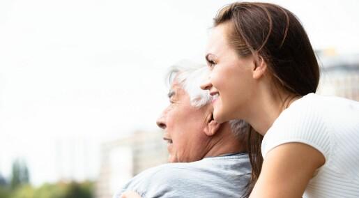 Demens: Hvem din familie er påvirker dine omsorgstjenester