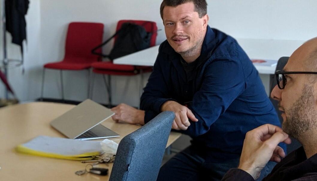 Lars Tjelta Westlye og forskergruppen hans lar seg i liten grad styre av diagnoser. (Foto: Silje Pileberg)