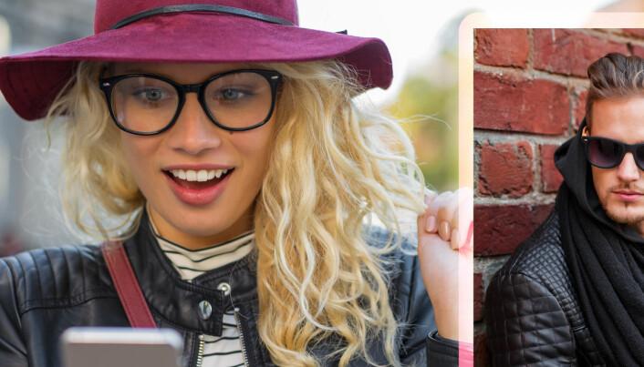 Forskere mener Tinder og sosiale medier går utover kjærligheten