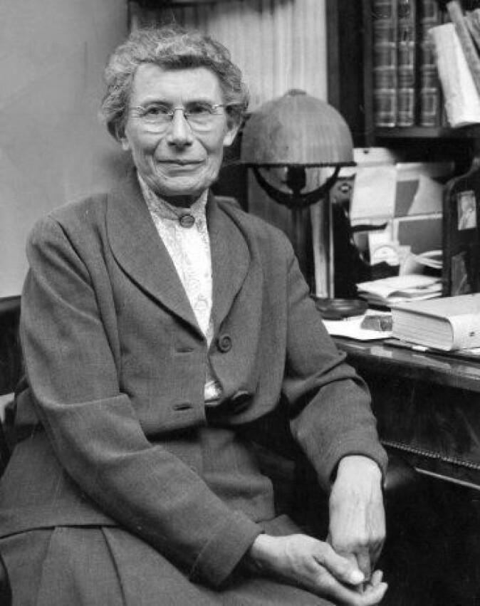 Inge Lehmann (1888–1993) er den glemte seismologen som i 1936 oppdaget jordens indre kjerne. (Foto: OI-i.lavin)