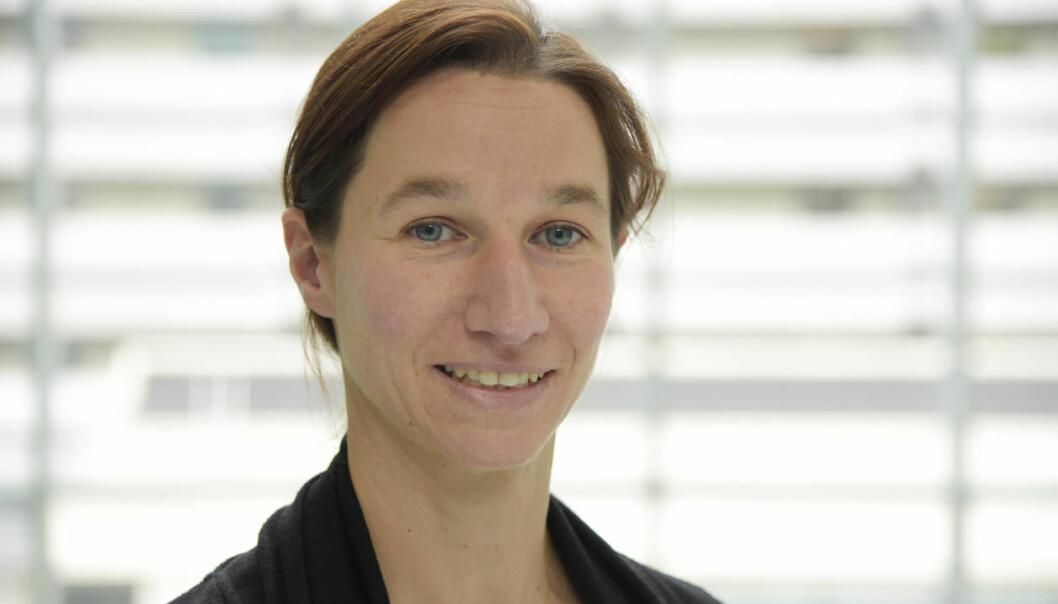 Silke Appel forsker hovedsakelig på Sjögrens syndrom, i tillegg til kreft og psoriasis. (Foto: Kim E. Andreassen).