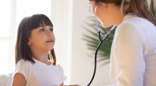 Barn som er lite fysisk aktive har dårligere hjertefunksjon