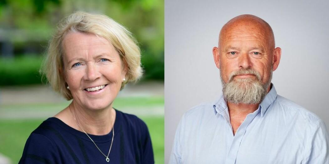 Gro Jamtvedt og Oddgeir Osland er ansatt som nye dekaner ved OsloMet. (Foto: OsloMet)