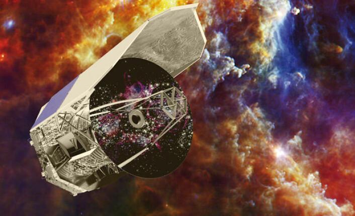 ESAs romteleskop Herschel har undersøkt de tidligste galaksene, samt stjerndannelse og forekomsten av vann i Melkeveien. (Foto: ESA)