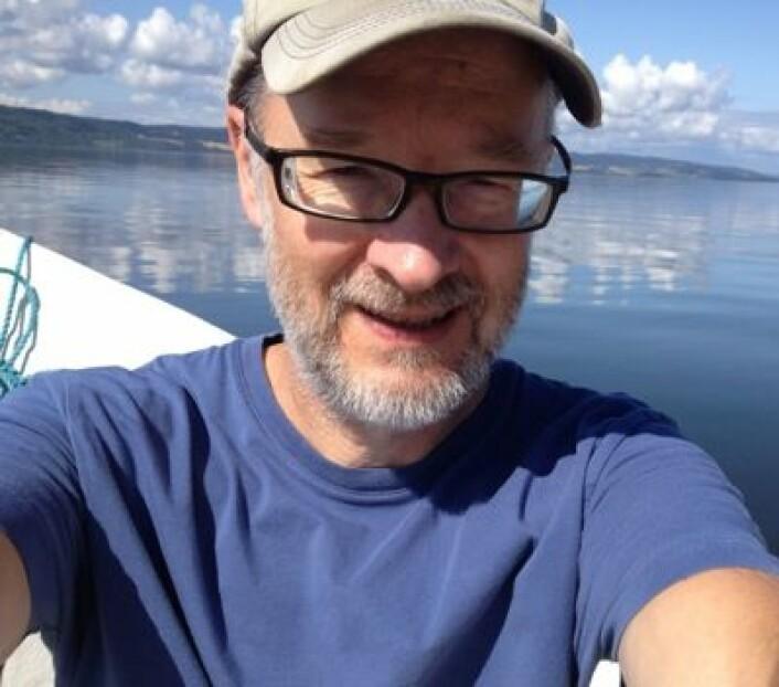 En stille sommerdag på Øyeren. (Foto: (TW))