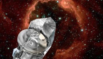 Rekordstort romteleskop led varmedøden