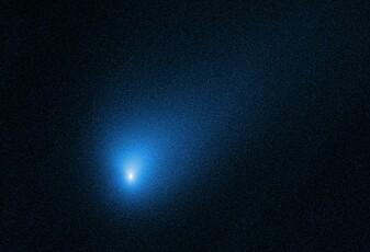 Solsystemet vårt har fått besøk utenfra