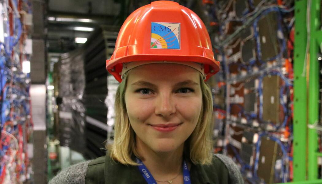 Eli Bæverfjord Rye er fysiker og forsker på data fra forsøkene som gjennomføres på CERN. (Foto: Lasse Biørnstad)