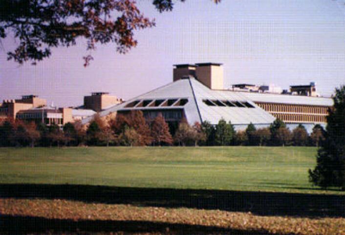 Hovedkvarteret til Lucent Technologies, etterfølgeren til Bell Labs. (Foto: Lucent, Wikimedia Commons)