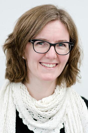 - Damene med en sein blodsukkertopp tidlig i svangerskapet er de som ligger dårligst an, også når det gjelder å få svangerskapsdiabetes, sier Kathrine Frey Frøslie er biostatistiker og forsker ved Avdeling for Biostatistikk ved Universitetet i Oslo. (Foto: Ram E. Gupta)