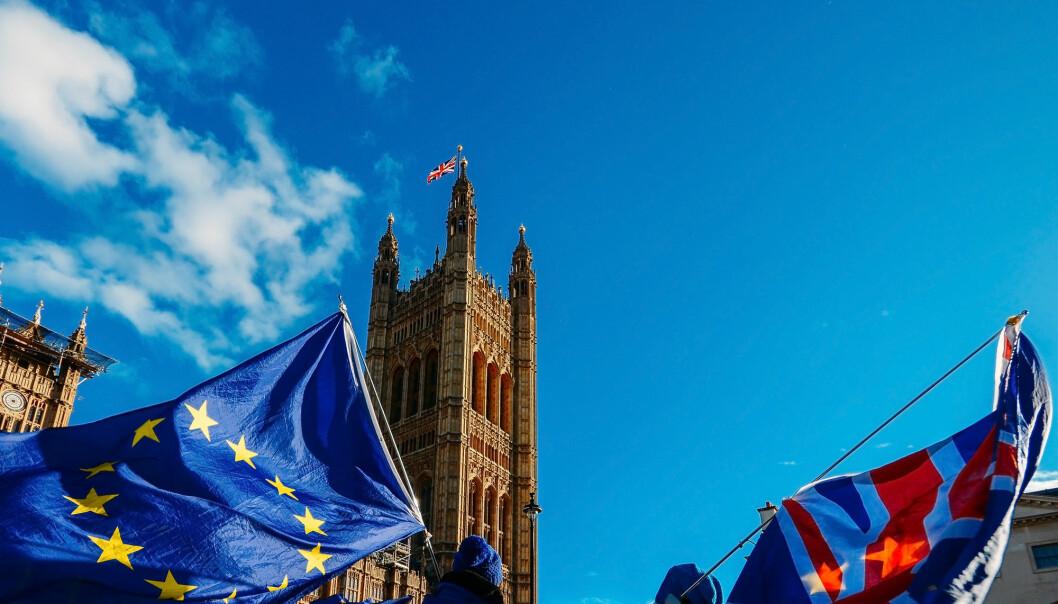 Siden Storbritannias befolkning stemte ja til å forlate EU i 2016, har det mildt sagt vært uklart om man ville kunne få til en ny avtale mellom Storbritannia og EU. (Illustrasjon: Alexandre Rotenberg / Shutterstock / NTB scanpix).