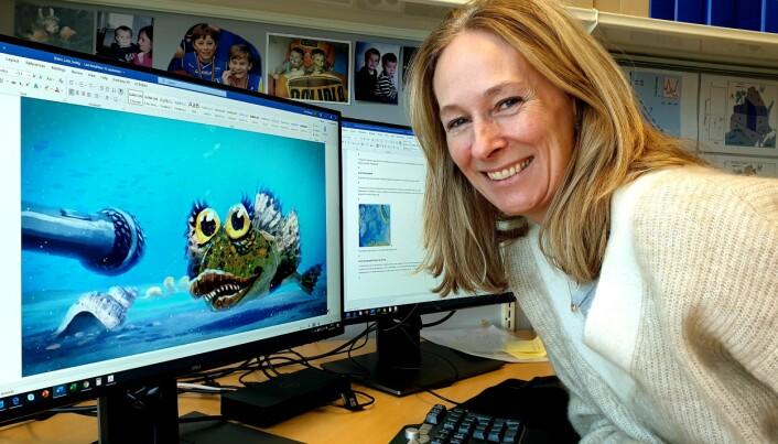 Kari Ellingsen var en av dem som fikk ideen til filmen om ulken Laila. Nå lanseres filmen, laget av Fabelfjord. (Foto: Helge M. Markusson / Framsenteret).