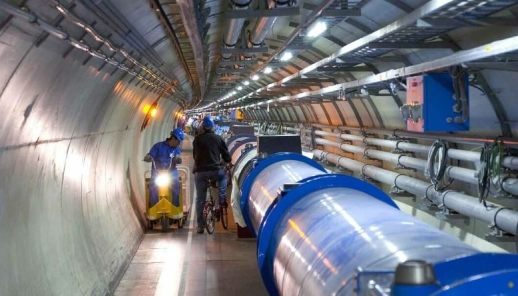 Her håper de å finne neste Higgs-boson