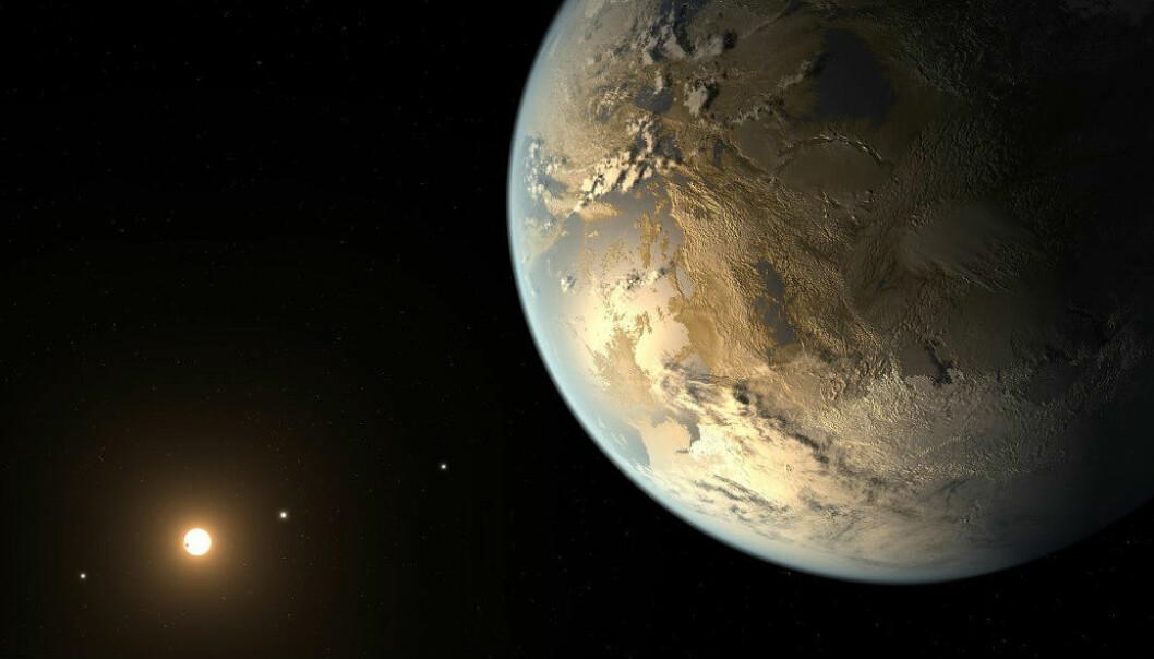 Kepler 186 f er foreløpig den planeten eksperter har mest tro på at kan huse liv. Den ble oppdaget i år, og får derfor ikke nytt navn i denne omgangen. NASA/Reuters