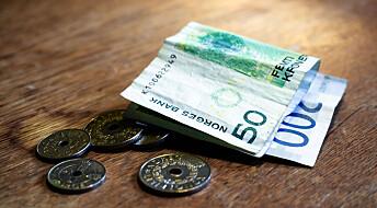 Litt flere fattige i Norge