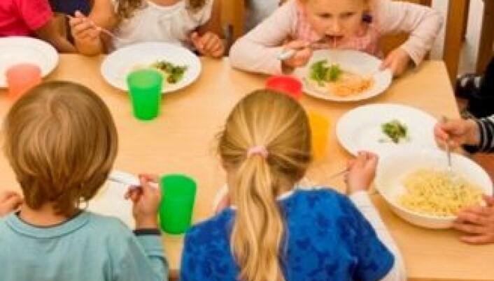 Bedre mat i barnehagene