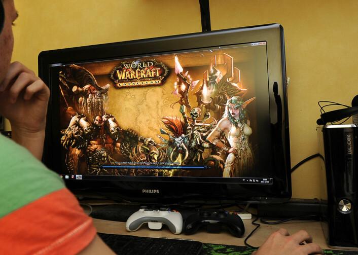World of Warcraft andre store rollespill samler deltakerne om å løse oppgaver, et samarbeid som går på tvers av landegrensene og gjør det nødvendig å kunne engelsk. (Foto: NTB Scanpix)