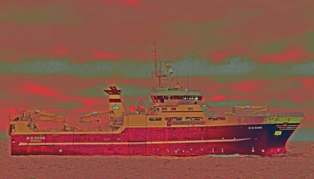 Originalfoto: Tom Ole Drange, Havforskningsinstituttet