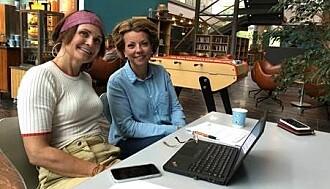 E-helseforskerne Kari Dyb (t.v) og Line Lundvoll Warth har sett på prosjektarbeidet som er gjort i innføringen av landets to nasjonale e-helseløsninger, og funnet ut at det er vellykket. (Foto: Mali A. Arnstad).