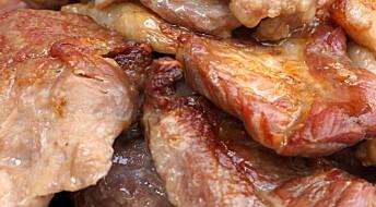 Nordmenn spiser mindre kjøtt – forbruket faller for andre år på rad