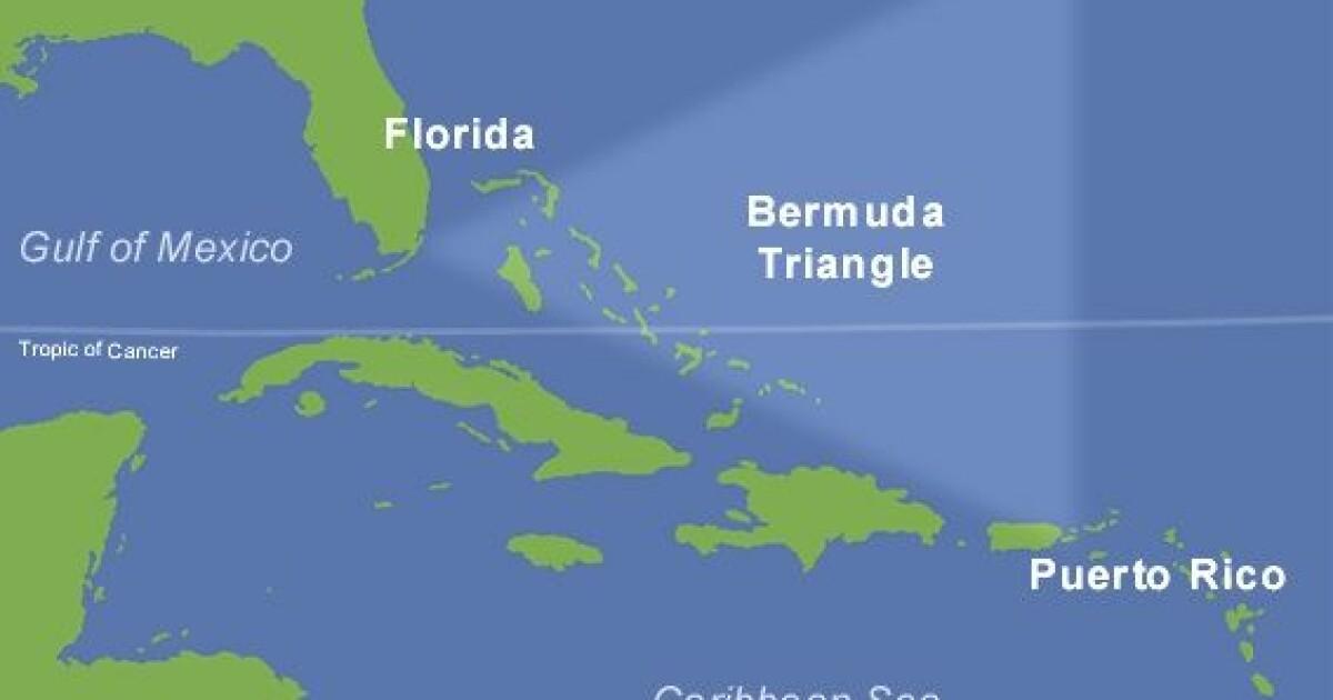 bermudatriangelet kart Forsvinner skip og fly i Bermuda triangelet? bermudatriangelet kart