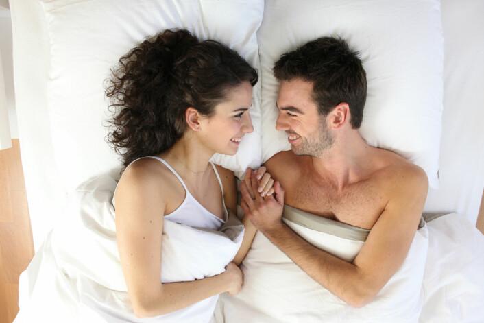 De som fikk orgasme, følte det tryggere å betro seg til partneren etterpå. (Foto: Colourbox)