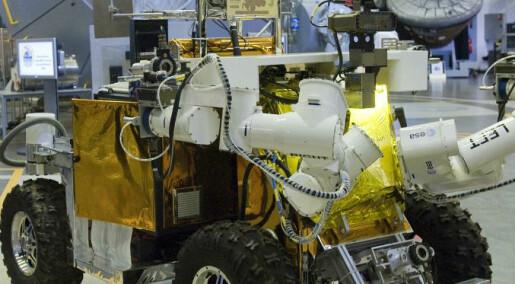 Styrer bil fra romstasjon ved hjelp av verdensrom-internett