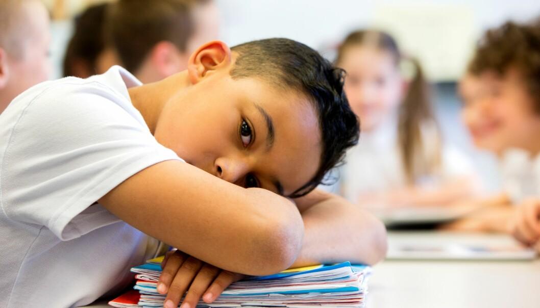 Språkvansker har store konsekvenser for læringsutbytte i skolen og for barnas sosiale liv. (Illustrasjonsfoto: Colourbox)