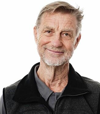 En av forskerne bak studien, Björn Ekblom er tydelig på at studien viser at Caster Semenya har en prestasjonsfremmende fordel. (Foto: Linus Hallgren)
