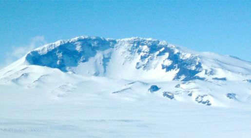Nesten ikke sot i Antarktis
