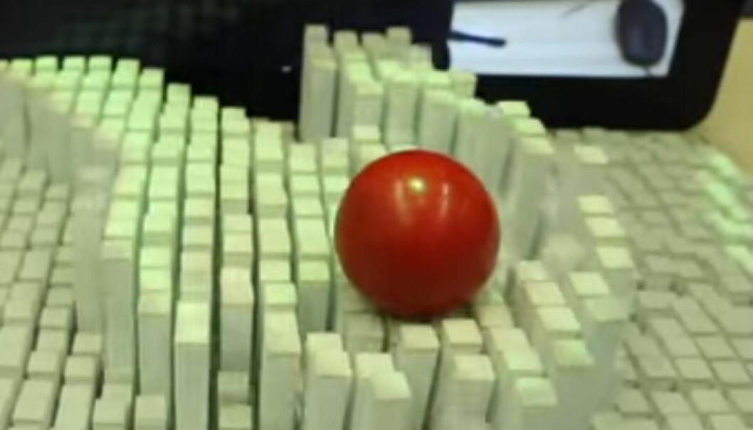 Kan man løfte en ball uten å røre den?