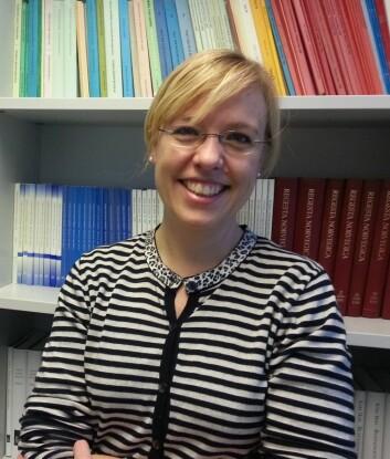 Åse Wetås fra Norsk Ordbok på Universitetet i Oslo. (Foto: Nina Kristiansen)