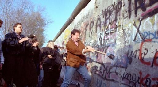 30 år siden Berlinmurens fall: Hvorfor forsvant ikke skillet mellom øst og vest?