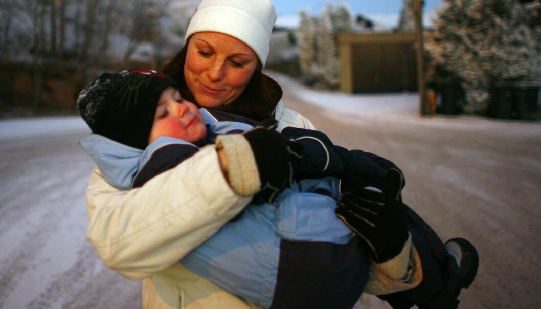 Til tross for tidsklemma ser mødre ut til å ha en noe yngre hjerne enn jevnaldrende kvinner uten barn. (Foto: NTB Scanpix)
