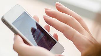 Målte bakterier i tarmen med smarttelefoner