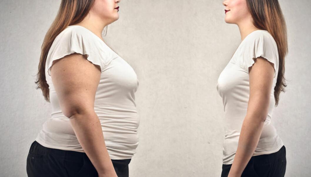 Mange tillegger fete mennesker ufordelaktige egenskaper. Men det er lite som tyder på fedme skyldes latskap og dårlig viljestyrke. (Illustrasjonsfoto: Microstock)
