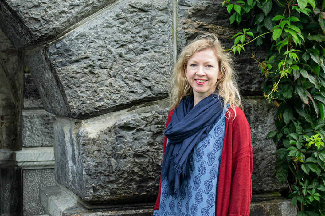 GRANT FROM TMS:Åslaug Ommundsen has researched Medieval manuscript culture in Norway with a recruitment grant from the Trond Mohn Foundation. (Photo: Ingrid Endal)