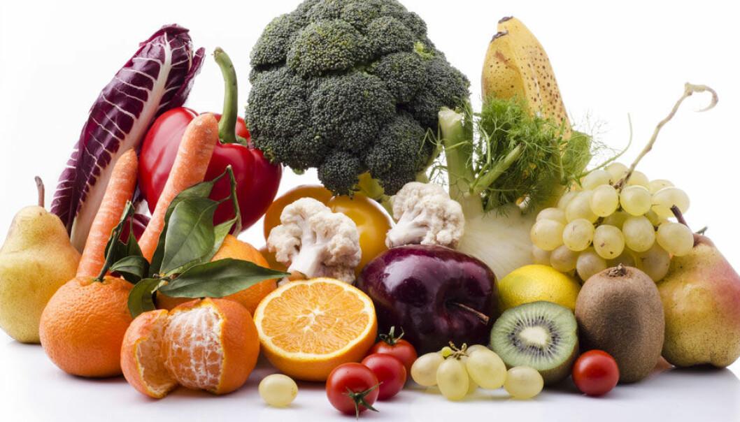 Den norske topp-plasseringen skyldes mer fruktspising enn knasking av grønnsaker. På grønnsaksfronten var nemlig svenske barn best. Microstock