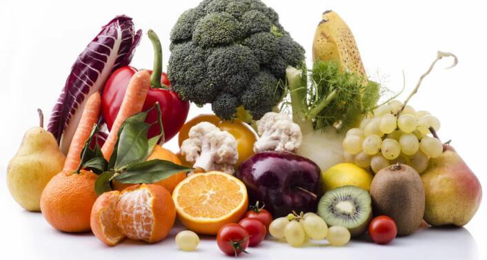 Den norske topp-plasseringen skyldes mer fruktspising enn knasking av grønnsaker. På grønnsaksfronten var nemlig svenske barn best. (Foto: Microstock)