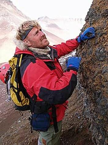 Astrobiolog Hans Erik Foss Amundsen. (Foto: Kjell Ove Sorvik/AMASE)