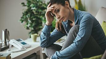 «Grubleterapi» virker mot depresjon, viser dansk studie