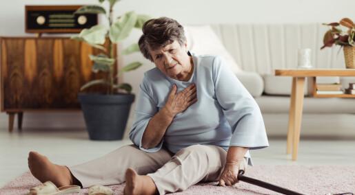 Hjerteproblemer og ensomhet kan være en dødelig kombinasjon