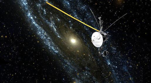 Voyager 2 sender melding hjem: Slik ser grensen til det interstellare rommet ut