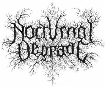 Noen bandnavn, som Nocturnal Degrade, er vanskelige å gjøre 100 prosent symmetriske, men her har Christophe Szpajdel klart å skape en symmetrisk harmoni i logoen.