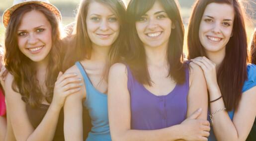 Den første menstruasjonen bestemmes av gener